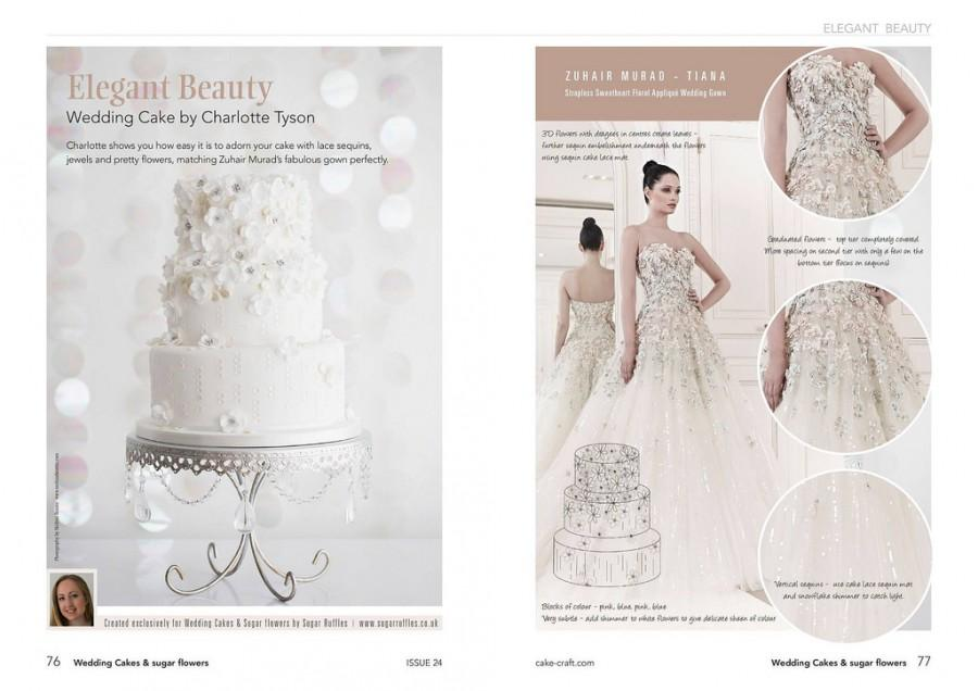 Mariage - Wedding Cakes & Sugar Flowers Magazine- The Fashion Inspiration Issue.