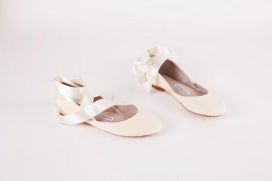 Shoe - Bridal Ballet Flats #2485203 - Weddbook