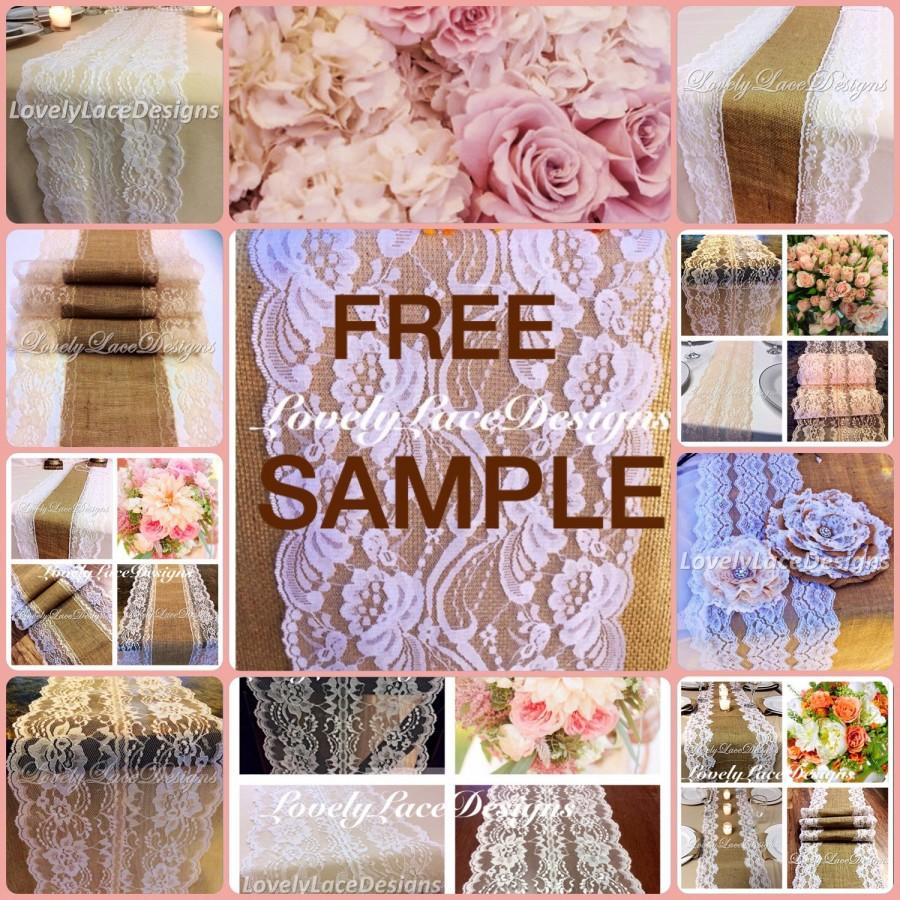 Free Lace Sample Lovelylacedesigns Wedding Table Runners Wedding