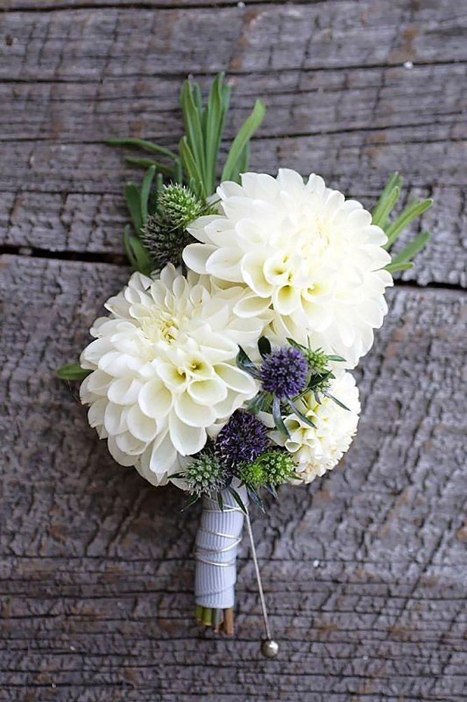 Wedding - 24 Wedding Bouquet Ideas & Inspiration - Peonies, Dahlias, Lilies And Hydrangea
