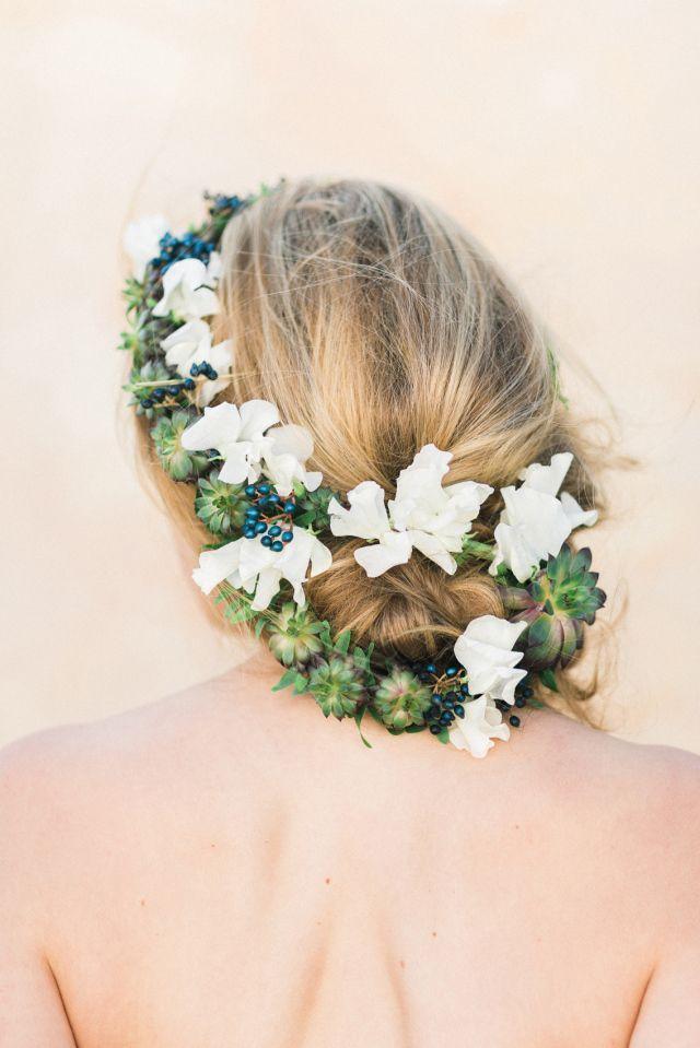 Свадьба - Floral Bridal Beauty
