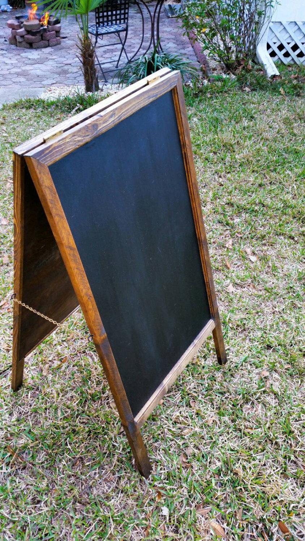 Mariage - A-Frame (Sandwich) Chalkboard