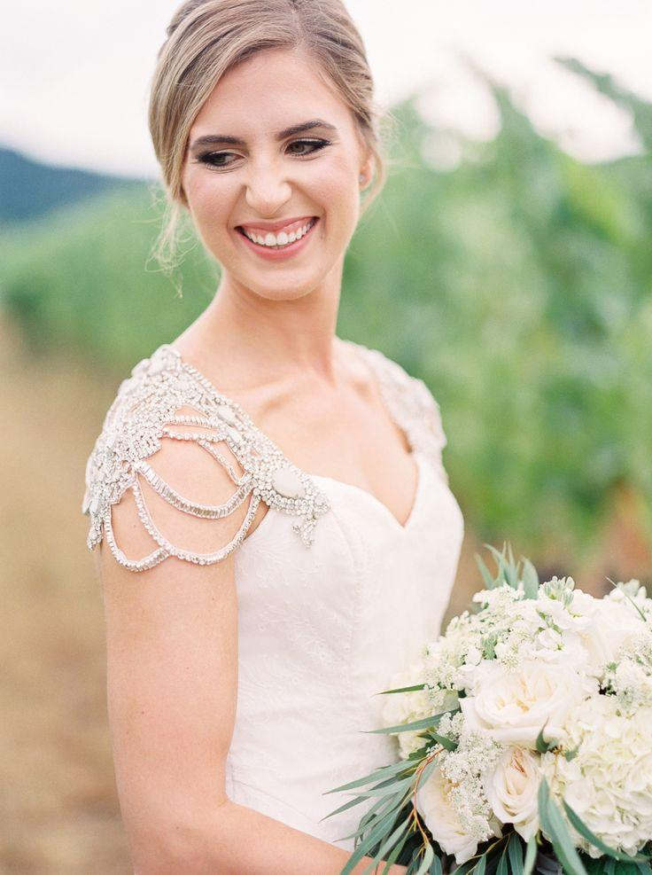 Свадьба - Romantic Summer Wedding At Zenith Vineyard