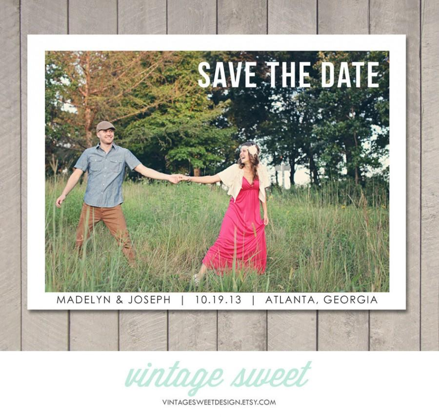 how to make magnet save the date cards