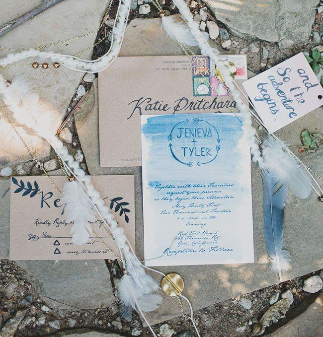 زفاف - Southwestern-Inspired Ojai Ranch Wedding: Jenieva   Tyler