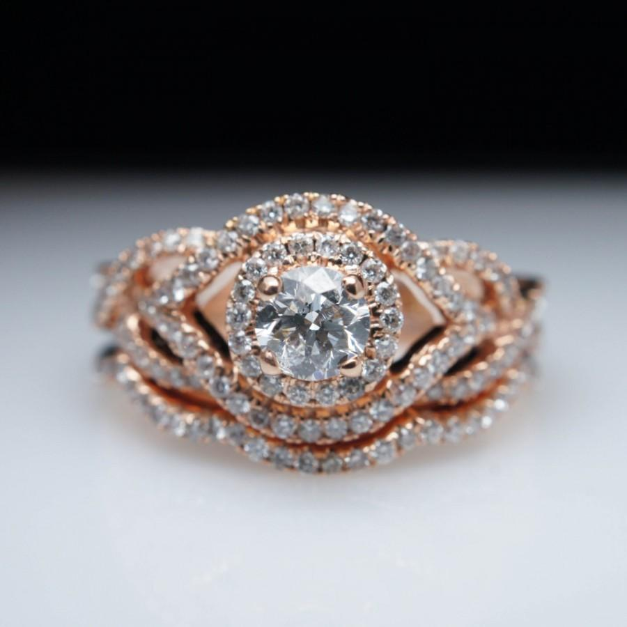 rose ring com amazing gold looking vintage bands pave diamond band rings wide for in wedding registaz luxury women