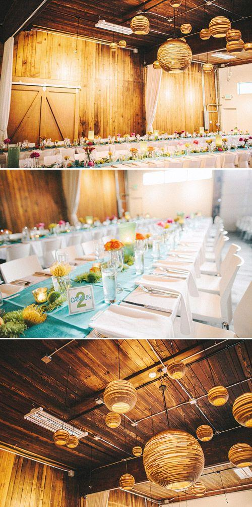 Свадьба - Colorful, Modern Wedding At Within SODO