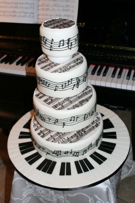 Piano Sheet Music Tiered Cake Music Musical Instruments 2486439