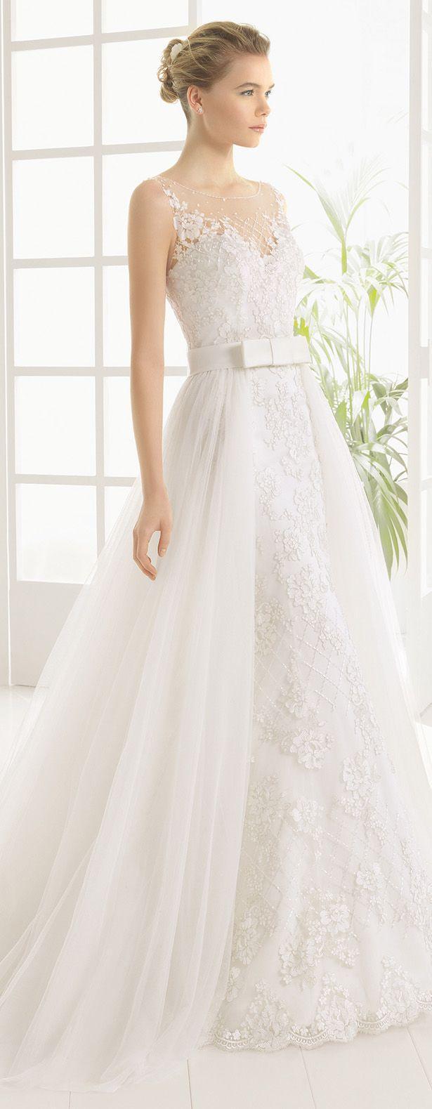 Wedding - Bridal Trends: Wedding Dresses With Detachable Skirts