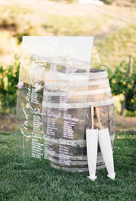 Mariage - Escort Card And Seating Chart Display Ideas