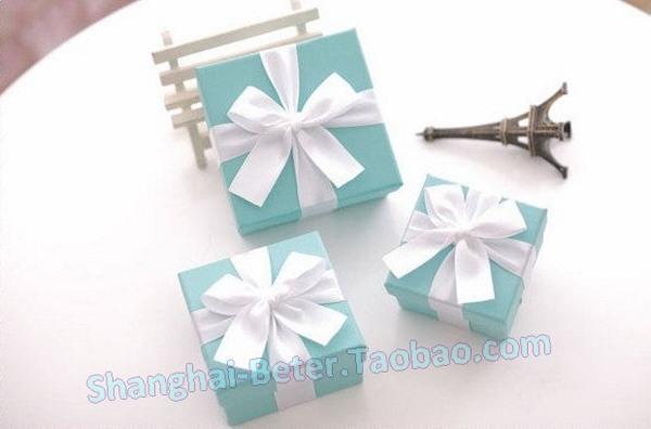 Wedding - 12pcs Tiffany Giftbox Love Wedding Candy TH040 Favor Box