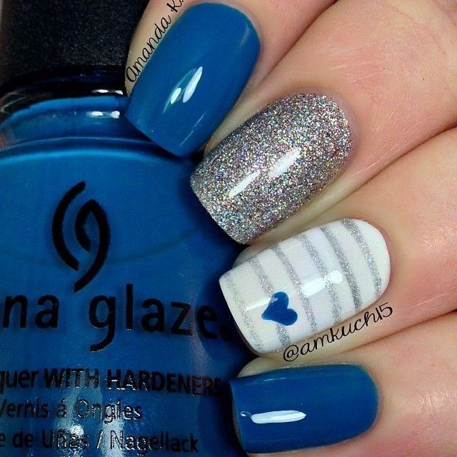 زفاف - White Finger Is Off Putting Either Silver And Blue Or Blue And White But Not All Three