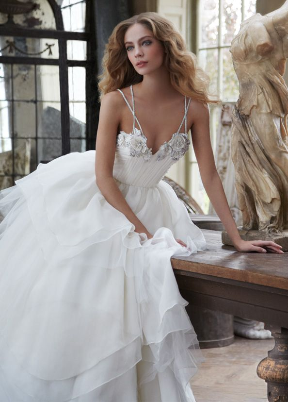 Bridal Gowns, Wedding Dresses By Hayley Paige - Style HP6200 ...