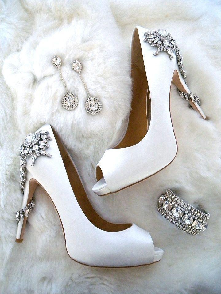 Badgley Mischka Royal Bridal Shoes