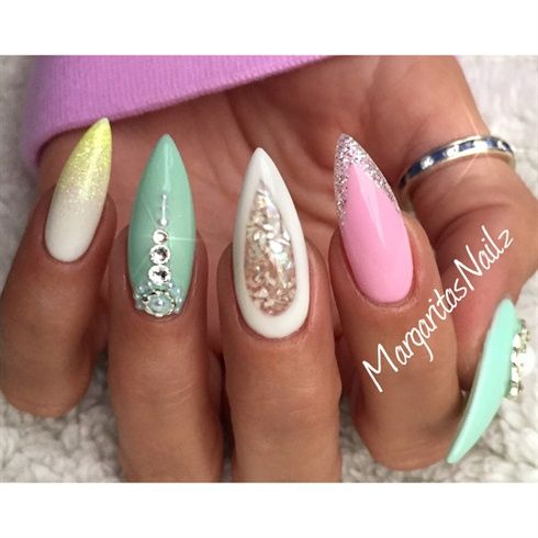 Stiletto Nails By Margaritasnailz From Nail Art Gallery 2487078