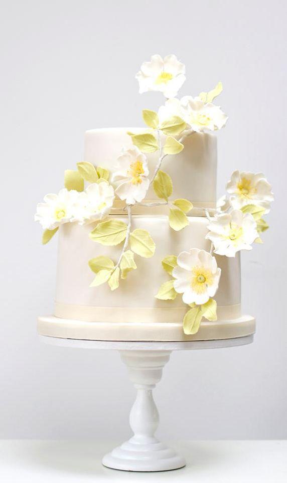 Cake - Briar Rose Wedding Cake #2487082 - Weddbook