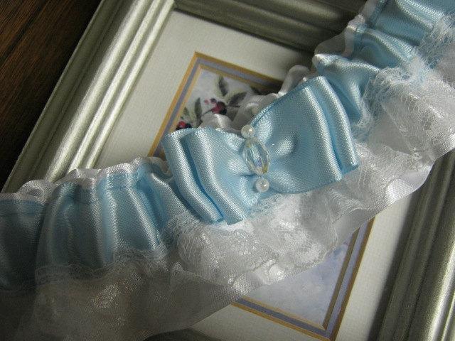 Свадьба - Something Blue Wedding Garter
