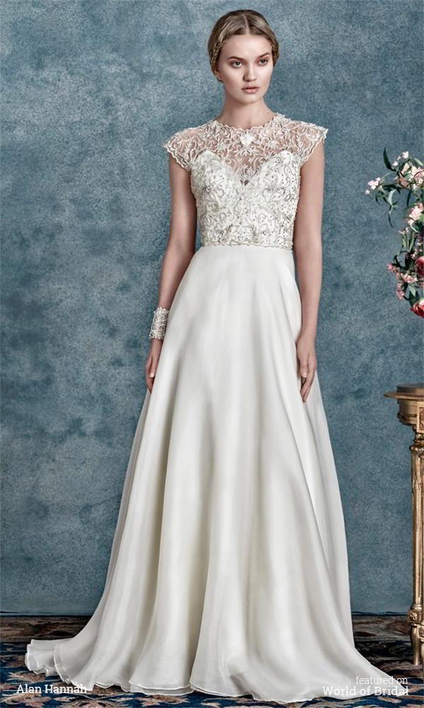 Свадьба - Alan Hannah 2016 Wedding Dresses