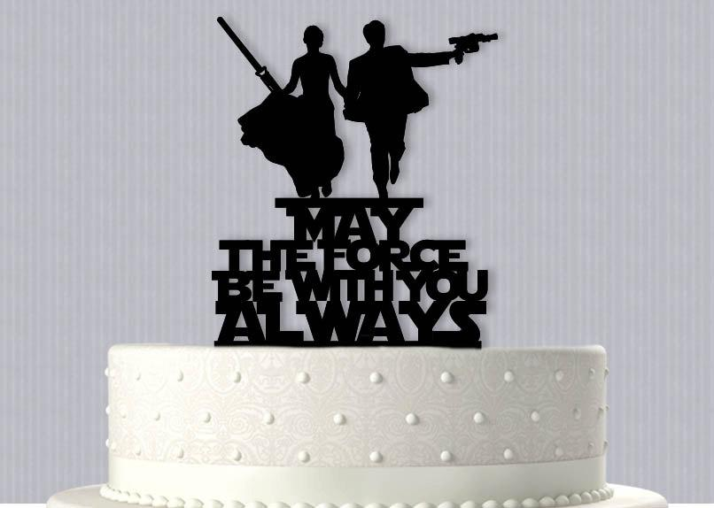 Mariage - Star Wars inspired Epic Wedding Cake Topper