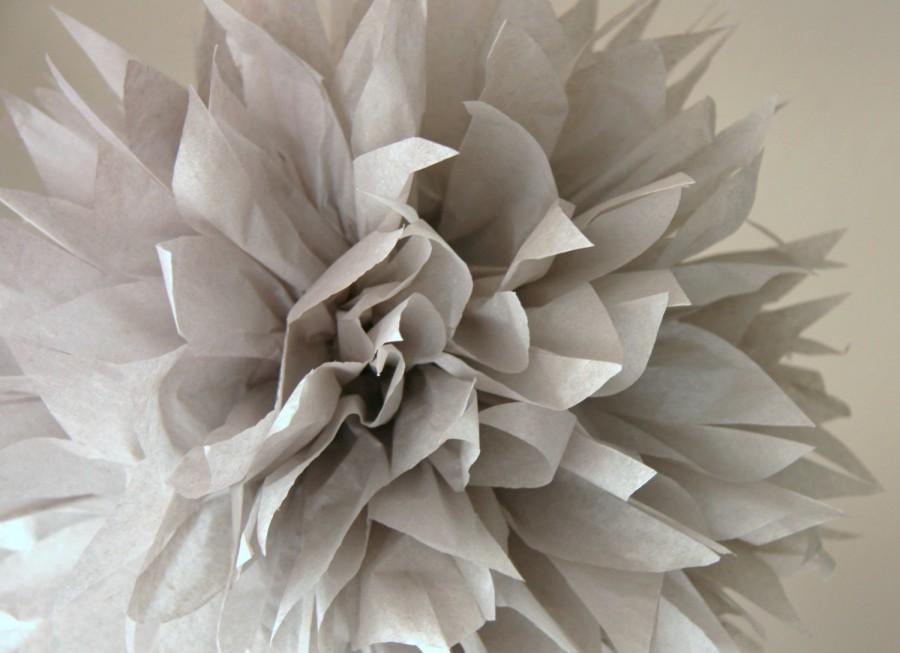 Mariage - Dove grey - one pom
