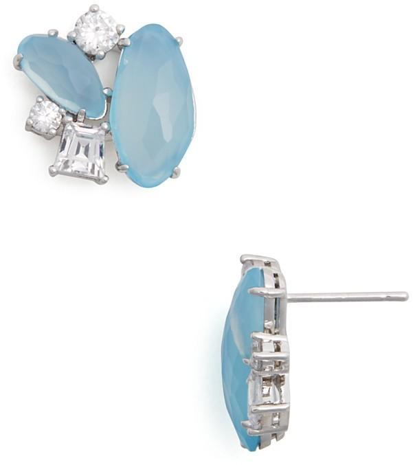 62d7ee1b9 Nadri Chalcedony Stud Earrings - 100% Bloomingdale's Exclusive ...