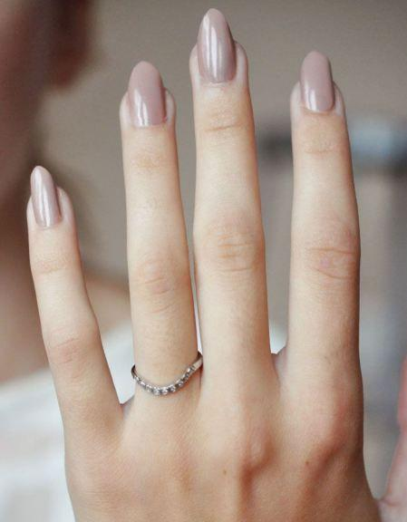 Wedding - Earthy Nails