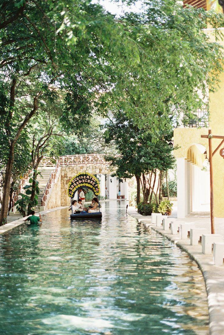 Wedding - Canal In Playa Del Carmen Mexico
