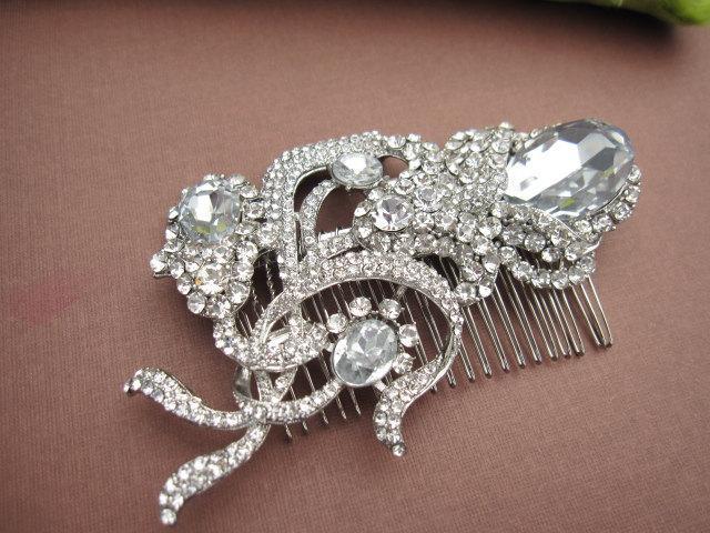 زفاف - Wedding hair comb vintage Wedding hair comb headpiece Wedding hair comb hair accessory Wedding hair comb hair jewelry Wedding hair comb clip