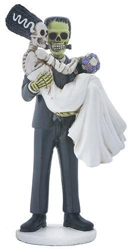 Halloween Wedding Cake Toppers-Love Never Dies Frankenstein And ...