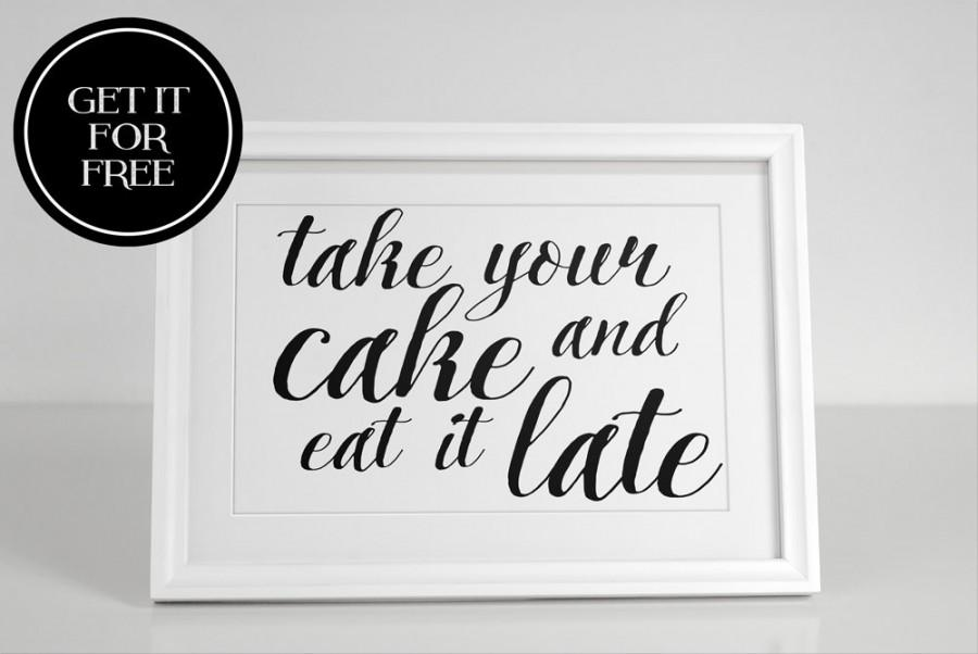 Cake Sign Wedding Sign Favor Sign Cake Boxes Mr And Mrs Party