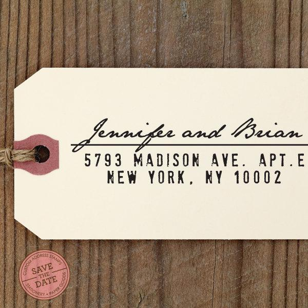 Mariage - CUSTOM ADDRESS STAMP with proof from usa, Eco Friendly Self-Inking stamp, rsvp address stamp, custom stamp, custom address stamp, stamper 51