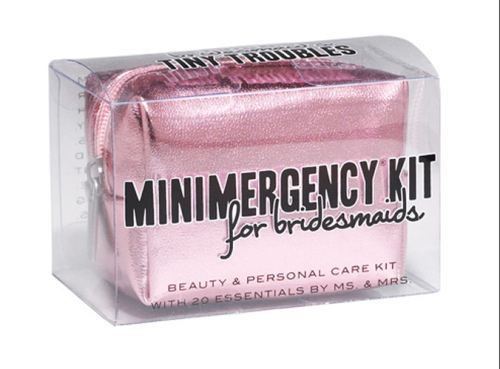 Wedding - Minimergency Kit For Bridesmaids