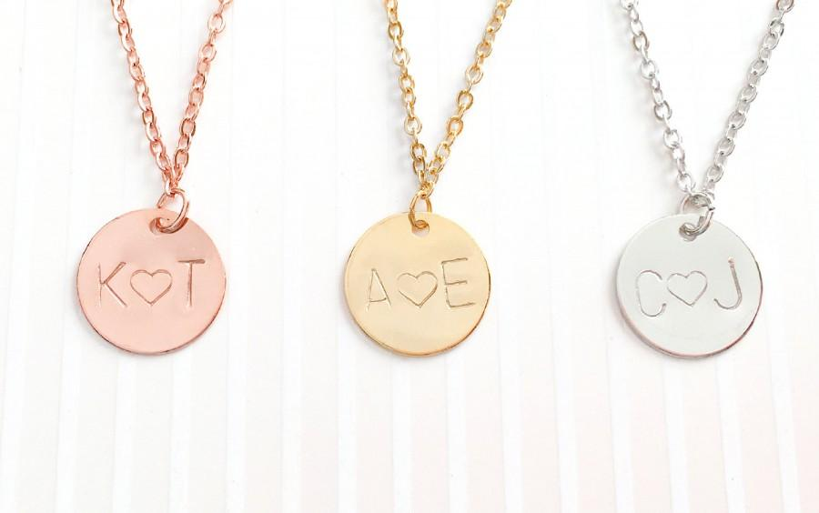 Свадьба - Personalized Bridesmaid Jewelry Bridesmaid Personalized Necklace Bridesmaid Necklace Flower Girl Necklace Kids