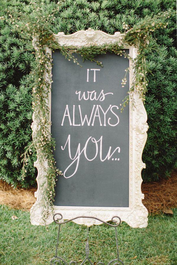Свадьба - 20 Cute And Clever Wedding Signs That Add A Little Somethin' To The Party