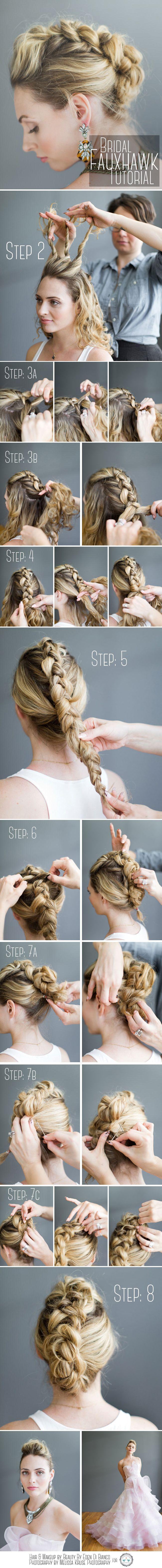 Hochzeit - 9 Pinterest – Inspired Braid Hairstyles
