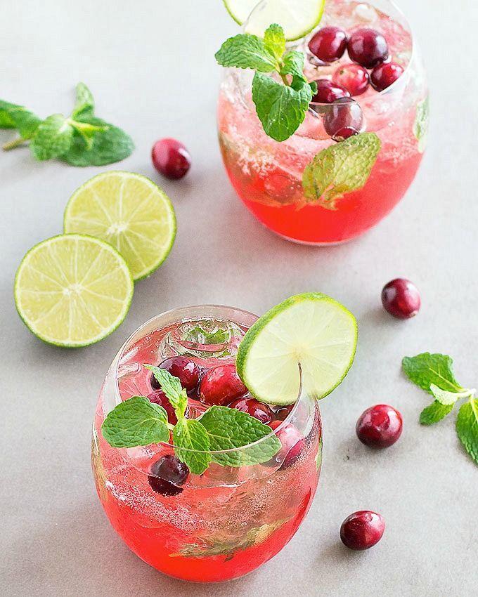 Wedding - Holiday Cranberry Mojito