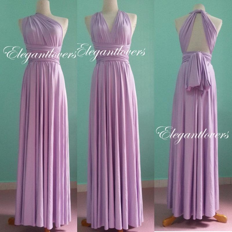 Bridesmaid dress dark purple wedding infinity wrap for Purple maxi dresses for weddings