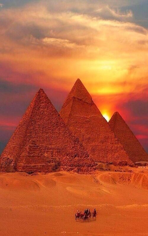 Свадьба - Twitter / GIobePic: Perfect Sunset Over The Pyramids ...