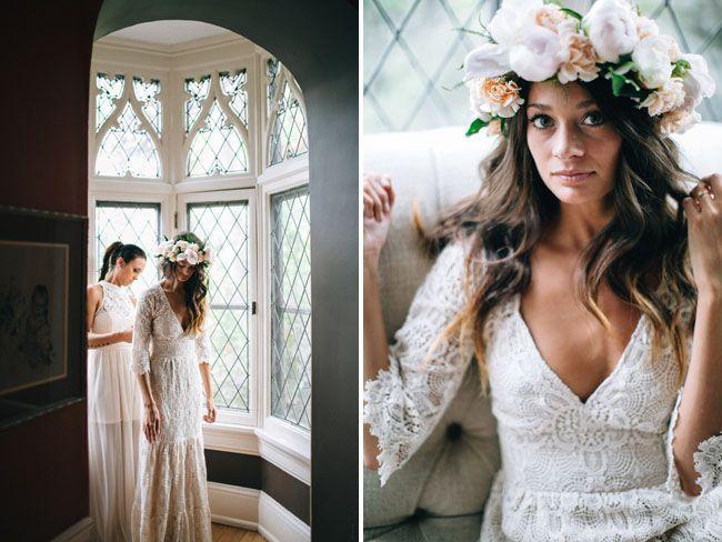Hochzeit - Bohemian Backyard Wedding In Milwaukee: Rea   Danny