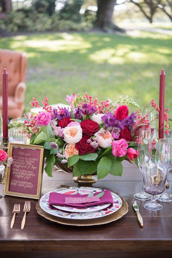 Mariage - A Rich And Romantic Autumn Fête