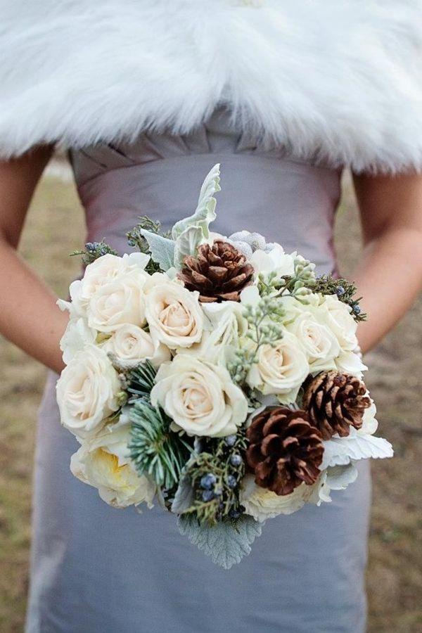 زفاف - Top 20 Winter Wedding Ideas With Pines