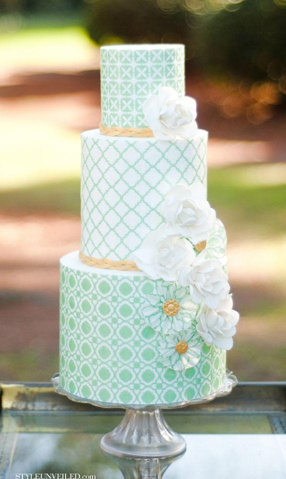 زفاف - Wedding Colors: Mint And Gold