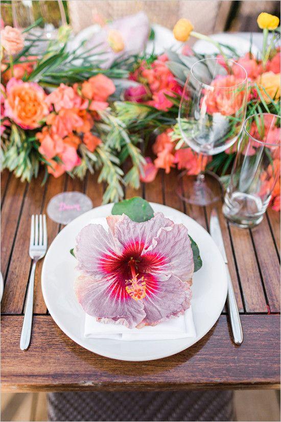 Wedding - Tropical Hawaiian Beach Wedding