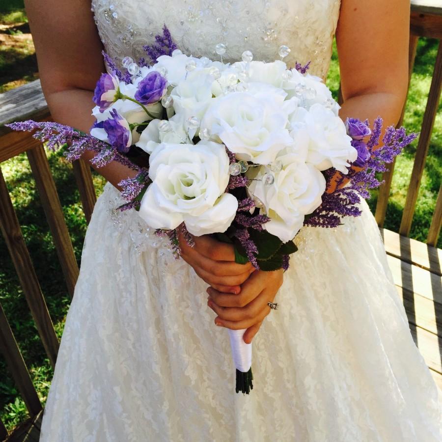 Sale Beautiful Wedding Bouquet Bouquet Lavender Wedding Bouquet