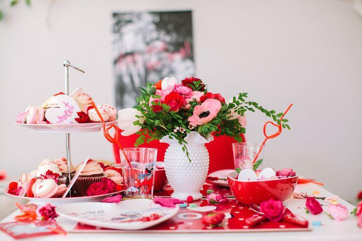 Hochzeit - Valentine's Day Kids Party Ideas