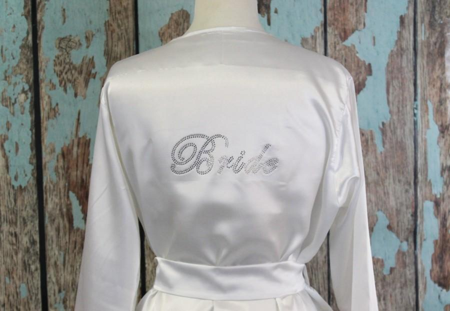 زفاف - Bridesmaid Robes, Bride Satin Robe, Bridesmaid Robes, Wedding Robe, Maid of Honor Robe, Bridal Party Robes
