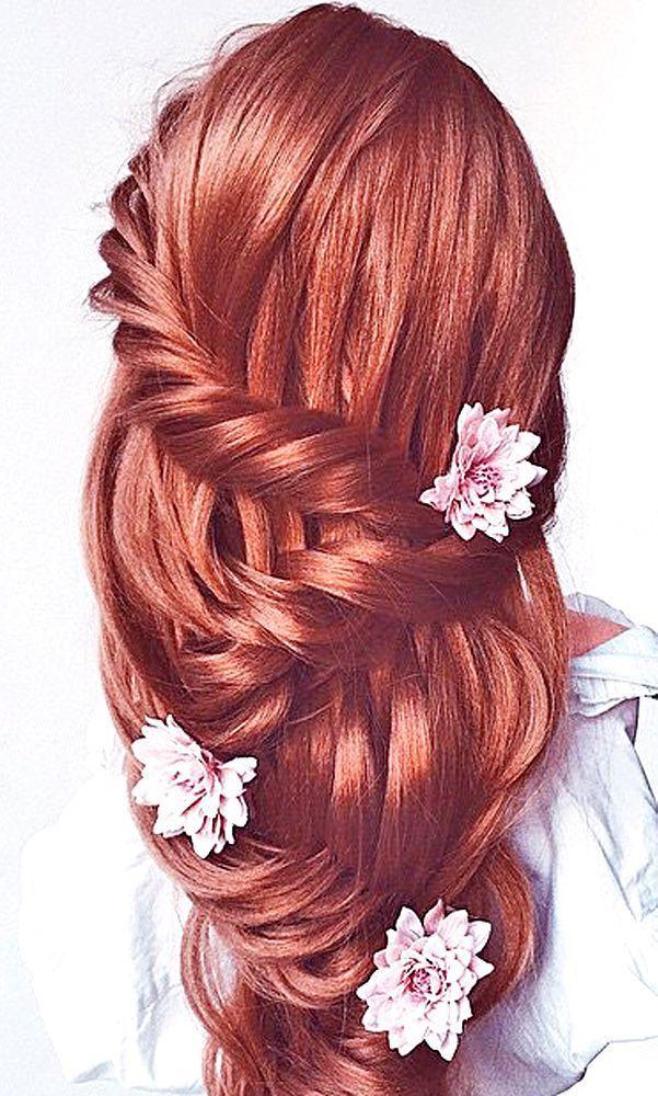 Hochzeit - 24 Most Romantic Bridal Updos & Wedding Hairstyles