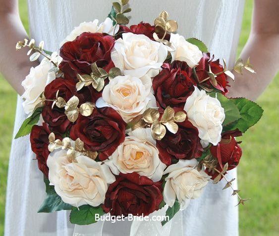 Wedding Theme - Burgundy Bridal Bouquet #2488698 - Weddbook