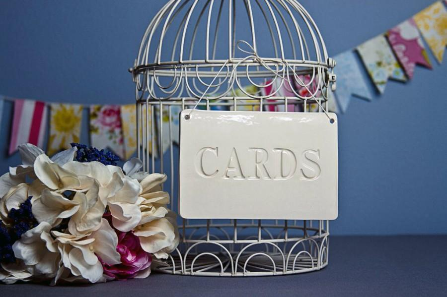 Mariage - Cards Sign for Wedding Card Box - Gift Wrapped