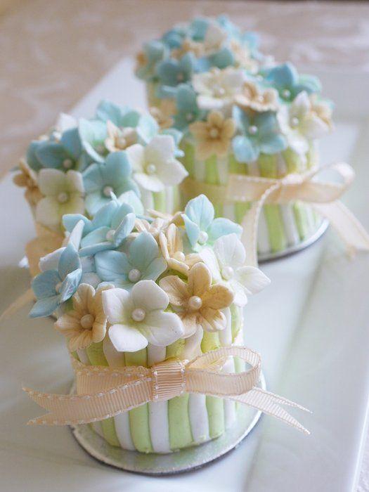 Свадьба - Flower Pot Favours
